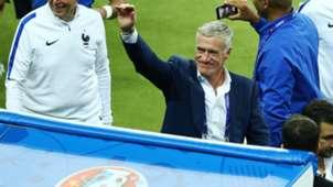 Didier Deschamps France Romania UEFA Euro 2016 10062016