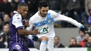 Remy Cabella Kelvin Adou Toulouse Marseille Coupe de France 08012017