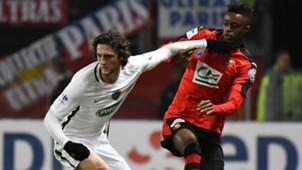 Adama Diakhaby Adrien Rabiot Rennes Paris SG Coupe de France 01022016