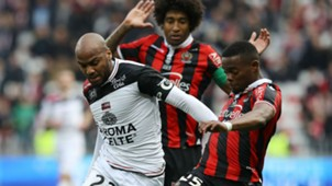 Jimmy Briand Wylan Cyprien Nice Guingamp Ligue 1 29012017