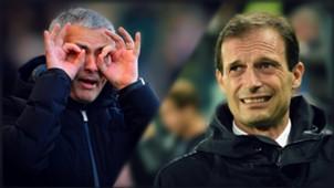 Mourinho - Allegri - Chelsea Juventus