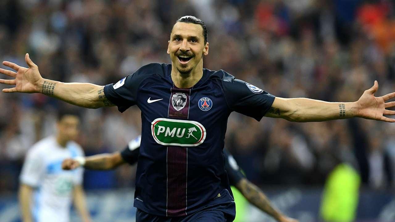 Zlatan Ibrahimovic Marseille Paris SG Coupe de France 21052016