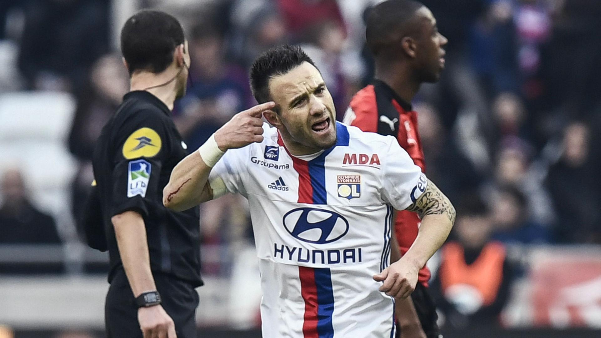 Mathieu Valbuena Lyon Rennes Ligue 1 11122016
