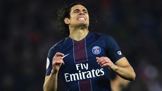 Edinson Cavani Paris SG Toulouse Ligue 1 19022017