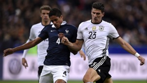 Varane Gomez France Germany Friendly 13/11/2015