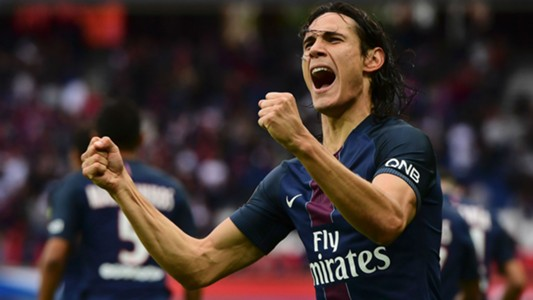 Edinson Cavani Paris SG Bordeaux Ligue 1 01102016
