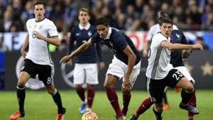 Varane Gomez France Germany Friendly 13/11/2015