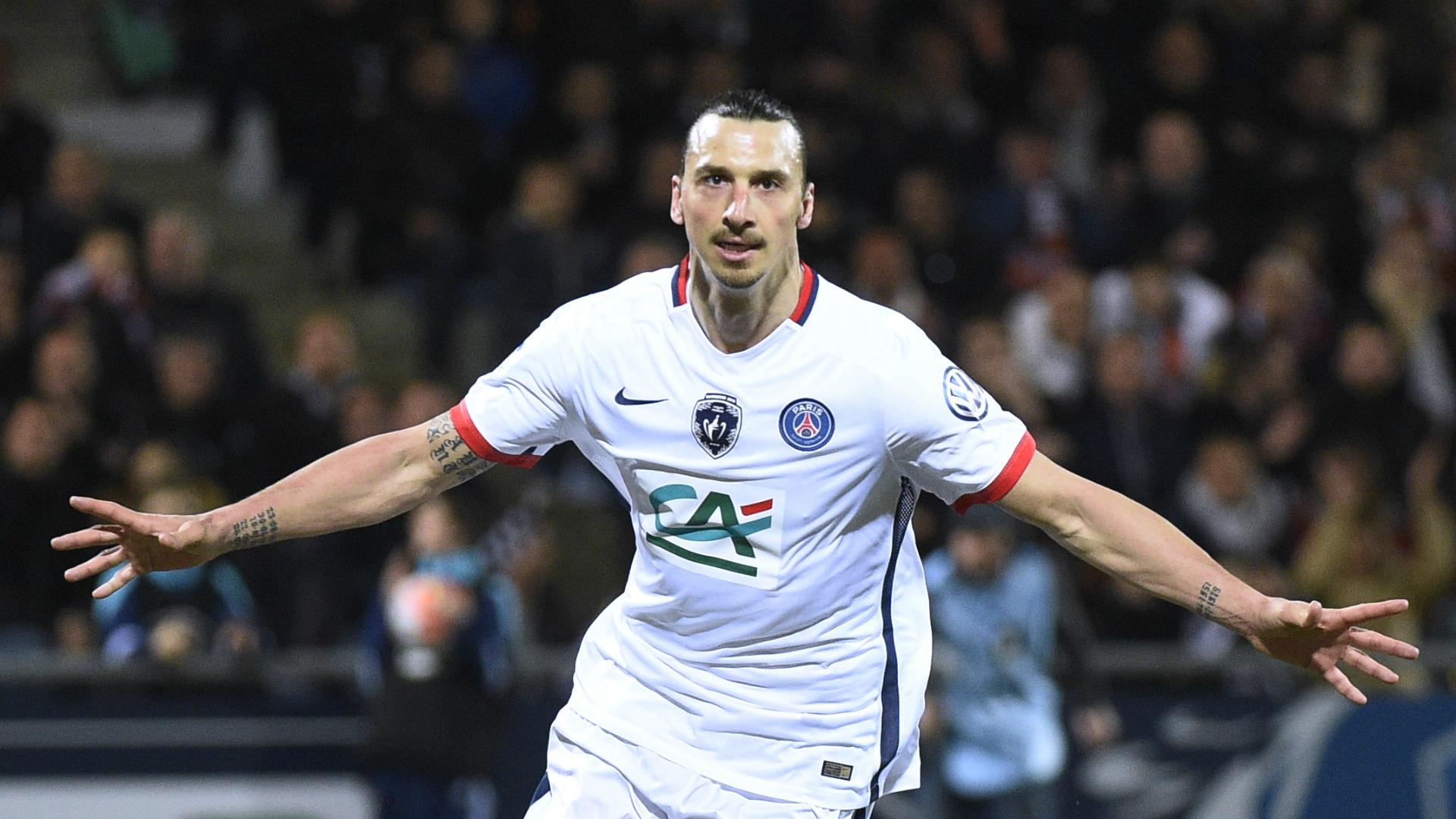 Zlatan Ibrahimovic Lorient-PSG