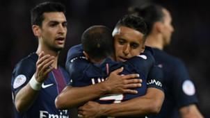 Marquinhos Lucas Moura Paris SG Nantes Ligue 1 14052016