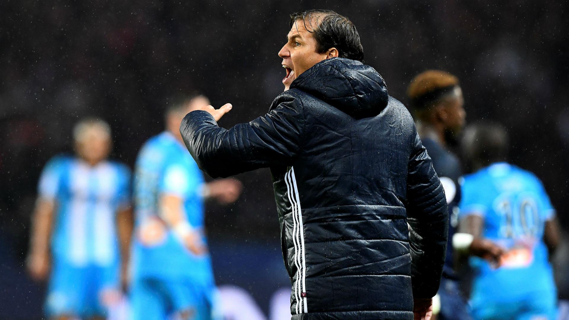 Rudi Garcia Paris SG Marseille Ligue 1 23102016
