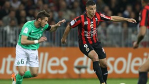 Hatem Ben Arfa Jeremy Clement Nice Saint-Etienne Ligue 1 07052016