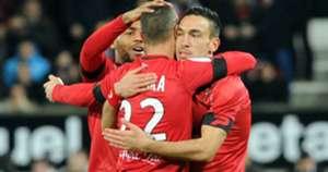Mevlut Erding Guingamp Troyes Ligue 1 03022016