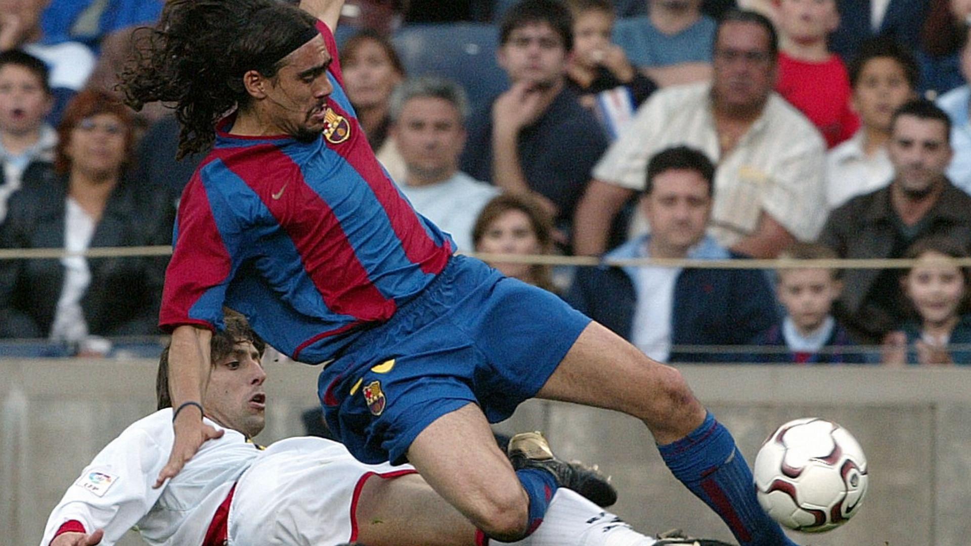 Juan Pablo Sorin Rayo Vallecano Barcelona 04-05-2003