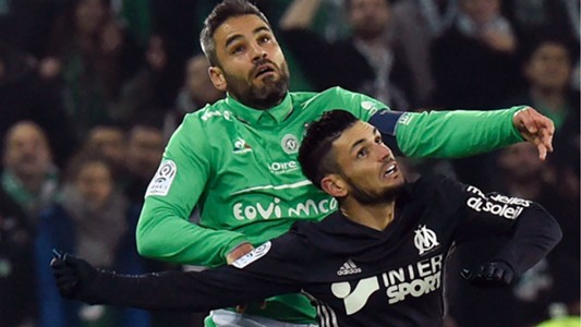 Remy Cabella Loic Perrin Saint-Etienne Marseille Ligue 1 30112016