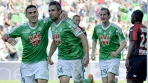Loic Perrin Mevlut Erding Saint-Etienne Nice Ligue 1 10052015