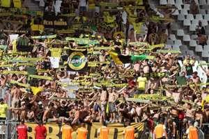 FC Nantes La Beaujoire fans