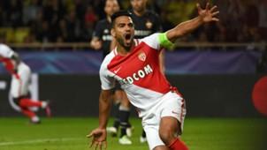 Radamel Falcao AS Monaco CSKA Moscow UEFA Champions League 02112016
