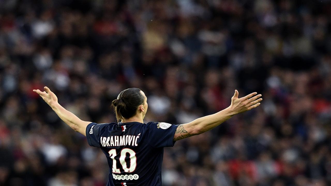 Zlatan Ibrahimovic PSG Guingamp Ligue 1 08052015
