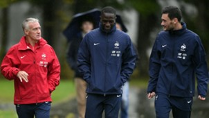 France national team training Deschamps Mandanda