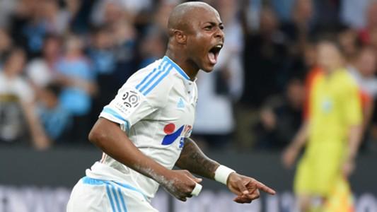 Andre Ayew Marseille Monaco Ligue 1 10052015