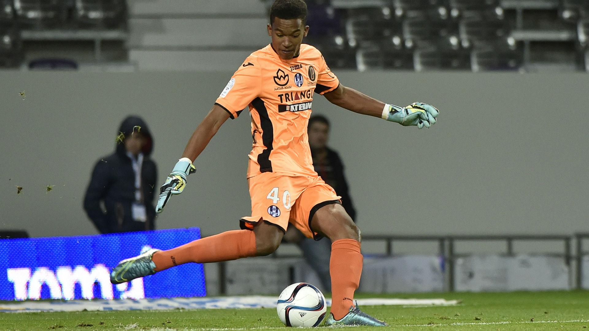 Alban Lafont Toulouse Nice Ligue 1 28/11/2015