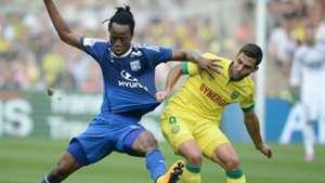 Bakary Kone Itay Shechter Nantes Lyon Ligue 1 28092014