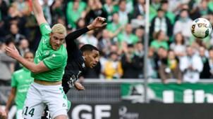 Ronny Rodelin Jordan Veretout Saint-Etienne Caen Ligue 1 26022017