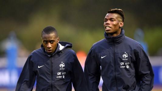 France national team training Pogba Matuidi