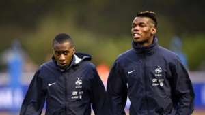 France national team training Pogba Matuidi