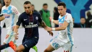 Florian Thauvin Layvin Kurzawa Marseille PSG Ligue 1 26022017