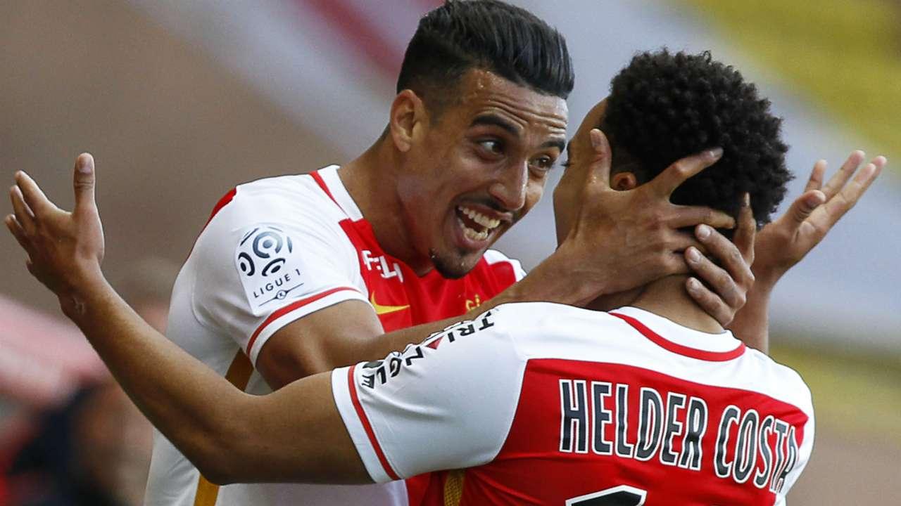 Nabil Dirar Helder Costa Monaco Guingamp Ligue 1 30042016