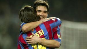 Deco Lionel Messi Barcelona