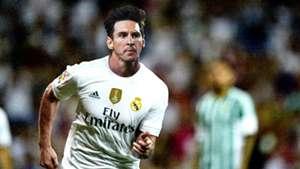 Lionel Messi - Real Madrid