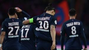Maxwell Zlatan Ibrahimovic Paris SG Nantes Ligue 1 14052016