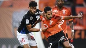 Walid Mesloub Youssef Ait Bennasser Lorient Nancy Ligue 1 10092016