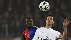 Thiago Motta Basel PSG Champions League 01112016