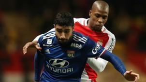 Nabil Fekir Djibril Sidibe Monaco Lyon Ligue 1 18122016