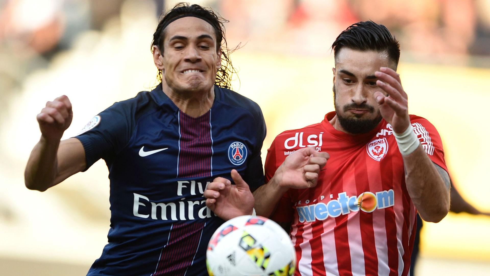Edinson Cavani Julien Cetout Nancy Paris SG Ligue 1 15102016