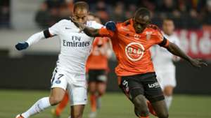 Lucas Moura Zargo Toure Lorient Paris SG Ligue 1 21112015