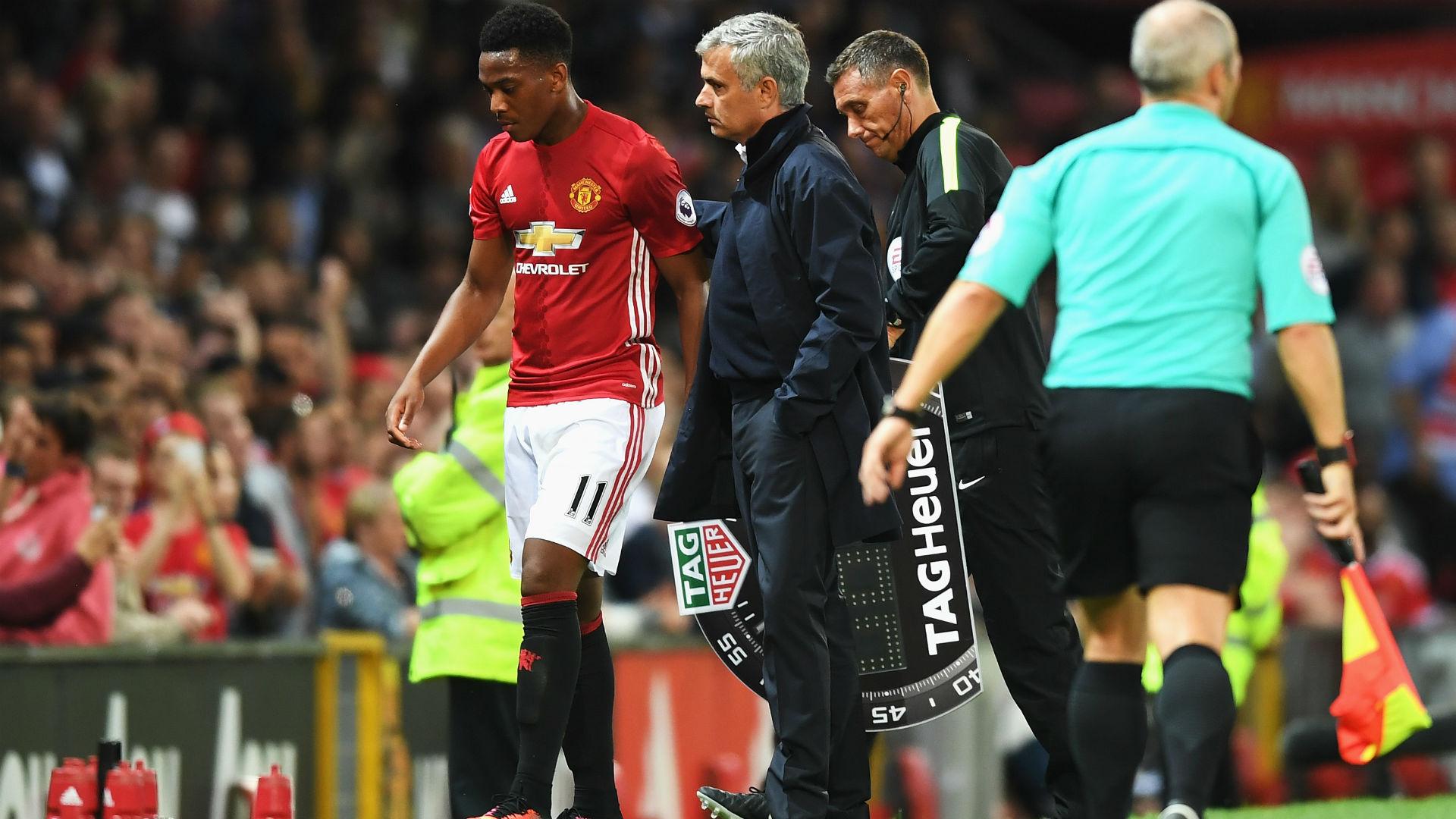 Mourinho Martial Manchester United Premier League