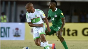 Yacine Brahimi Kenneth Omeruo Nigeria Algeria 12112016