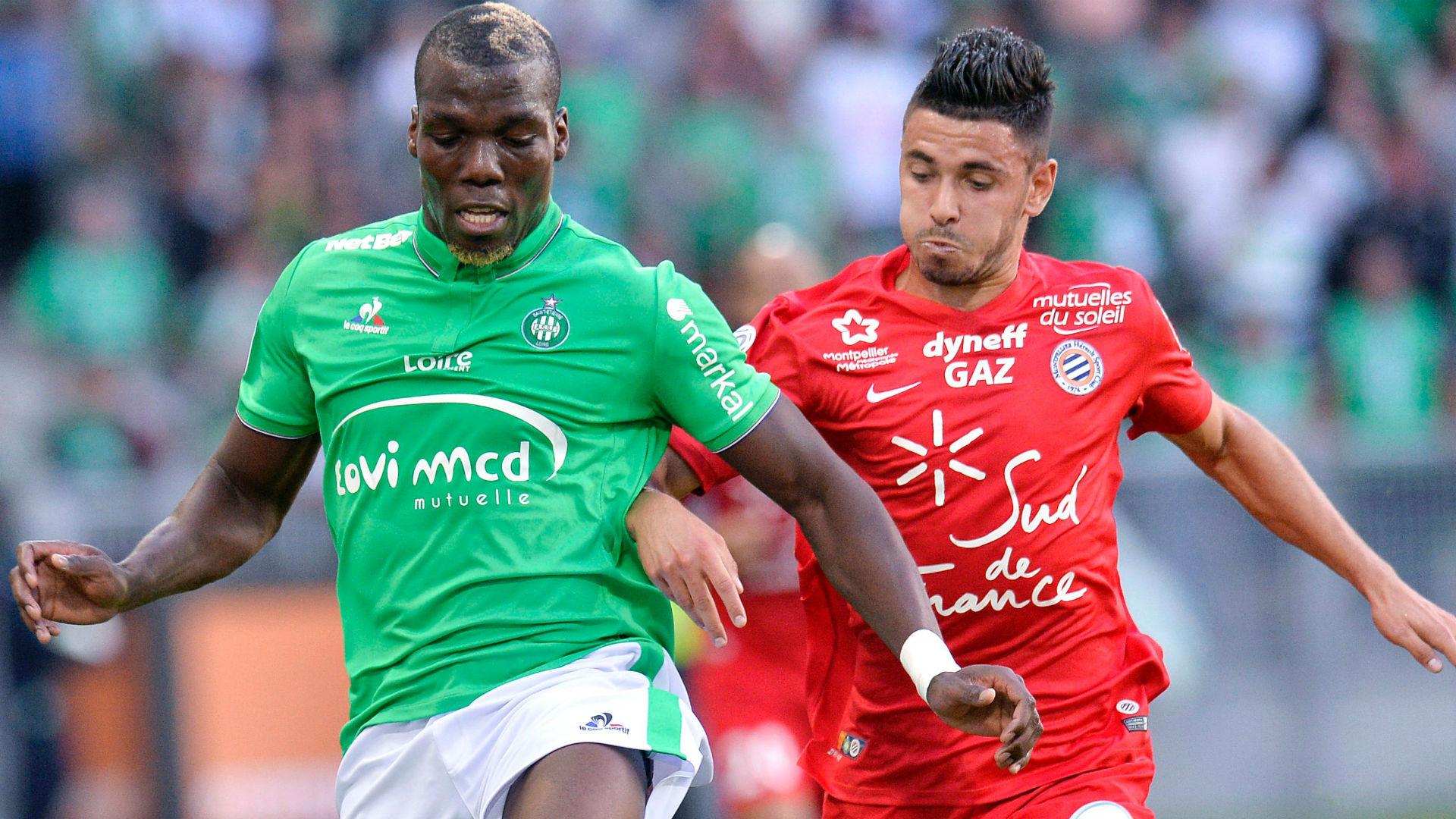 Florentin Pogba Morgan Sanson Saint-Etienne Montpellier Ligue 1 21082016