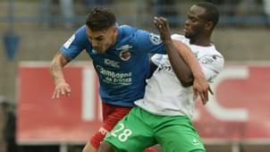 Andy Delort Ismael Diomande Caen Saint-Etienne Ligue 1 04102015