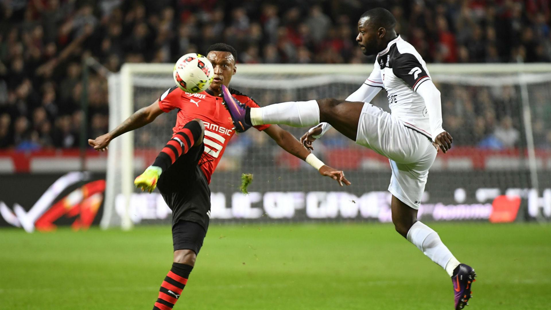 Edson Mexer Yannis Salibur Rennes Guingamp Ligue 1 30092016