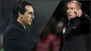 Unai Emery vs Leonardo Jardim PS FR
