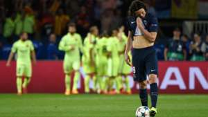 Edinson Cavani Paris SG Barcelona UEFA Champions League 15042015