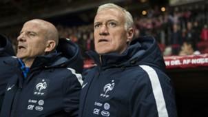 Didier Deschamps Guy Stephan Denmark France Friendly 11102015