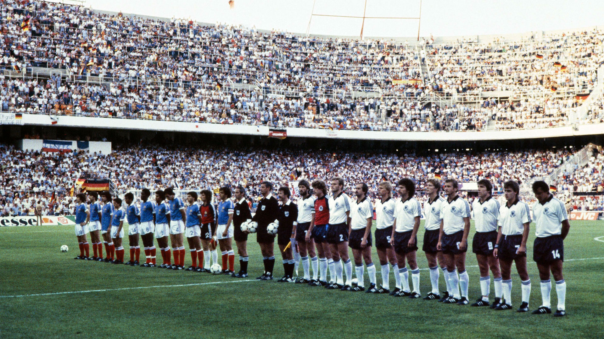 france germany friendly world cup 1982