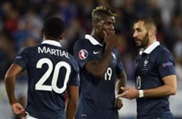 Benzema en équipe de France