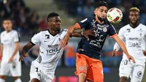 Ryad Boudebouz Georges Mandjeck Montpellier Metz Ligue 1 24092016